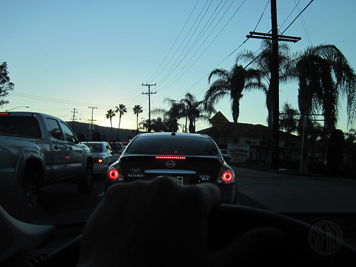 Christmas Eve traffic