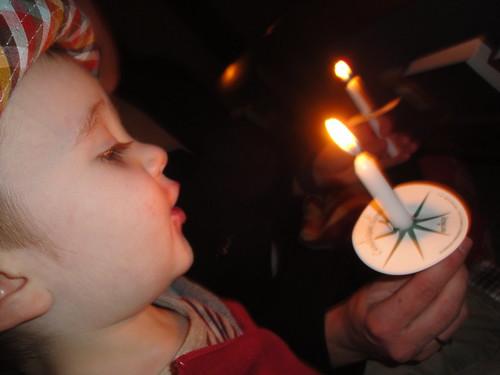 O 1st Candle Light Service