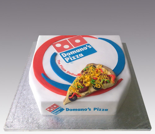Pizza Dominos Cake a photo on Flickriver