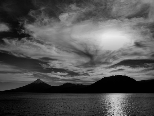 Volcano in Black and White by katiemetz, on Flickr