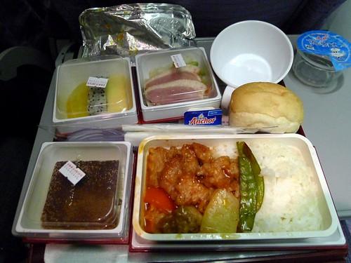深圳軟件教學行@華航經濟艙餐點