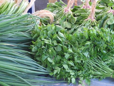 Produce at Salamanca Market in Hobart