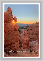 Sunrise, Thor's Hammer (Ralph Nordstrom) Tags: photography utah unitedstates parks workshop bryce geography brycecanyon nationalparks workshops thorshammer 2010zionbryce