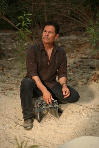 A Martinez is herpetologist Diego Ortiz