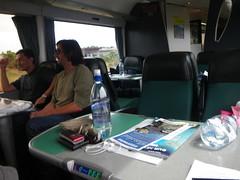 クライストチャーチ行きの観光列車