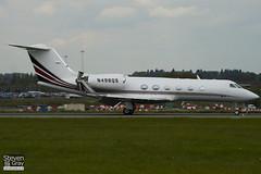 N498QS - 1398 - Netjets - Gulfstream IV SP - Luton - 100513 - Steven Gray - IMG_0975