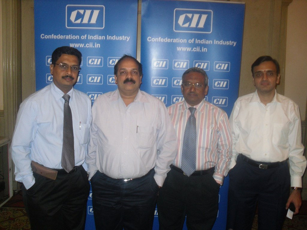 CII organised an Interactive Session on 'Get Smarter with Risk Management' on 23 December 2010 at Chennai. The session was chaired by Mr K Vaitheeswaran, CII TN Working group on GST & Advocate & Tax C