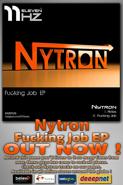 EHZEP070 - Nytron - Fucking Job EP - 11Hz Recordings