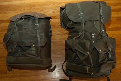 Homemade Waxed Canvas Backpack Bushcraft Usa Forums