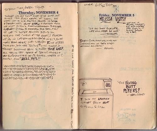 1954: November 4-5