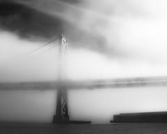 San Francisco Waterfront #2 (ShutterOak) Tags: sanfrancisco california bridge blackandwhite abstract clouds landscape outdoors sanfranciscobay outdoorsphotography