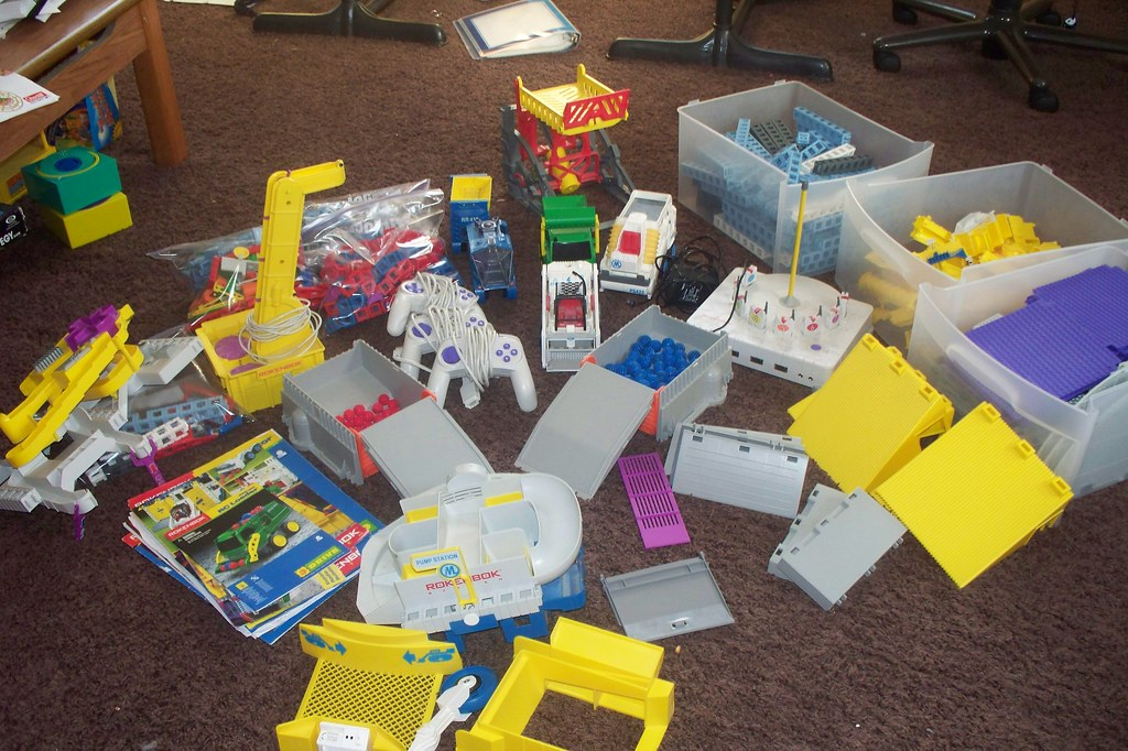 57/365: Sort toys to sell on CraigsList