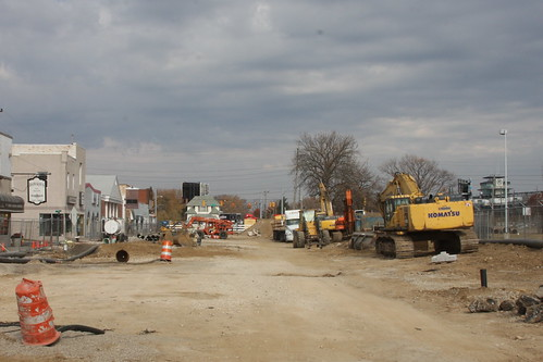 Final Stages of the Speedway Main Street Streetscape Project