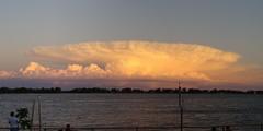 Cumulonimbus (pablodf) Tags: cloud storm argentina atardecer rosario tormenta cb nube cumulonimbus roparan charliebravo