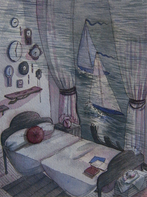 sailboat room close