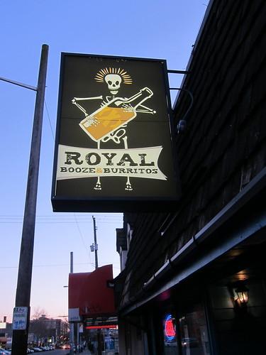 Royal Booze and Burritos