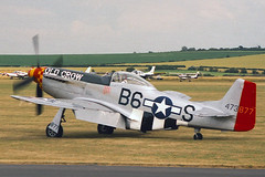 N167 NORTH AMERICAN P-51D-25-NA MUSTANG 122-40417