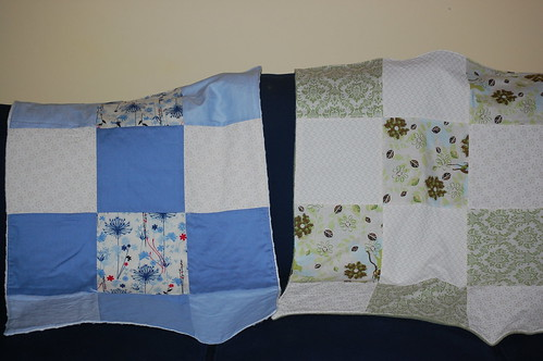 Button's Quilt and Eli's Quilt