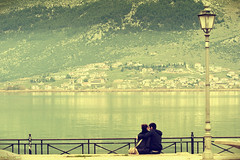 In Love (McHeras) Tags: new lake love happy nikon couple year greece nikkor vr 70300 ioannina 2011 d90 giannena 4556 f4556   70300vr      dpsromance