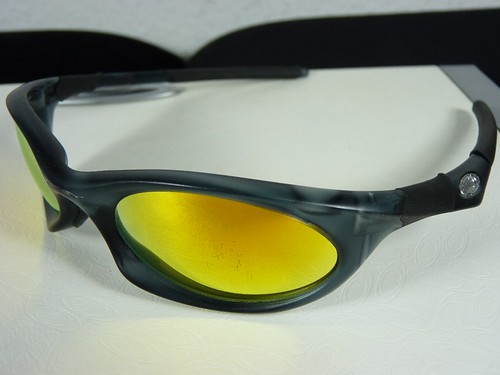 eye jacket oakley joov  Oakley Eye Jacket 30 Crystal Black w/Fire Irid