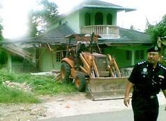 Kg Baru Plentong Tengah - an example of uneven development in Johor