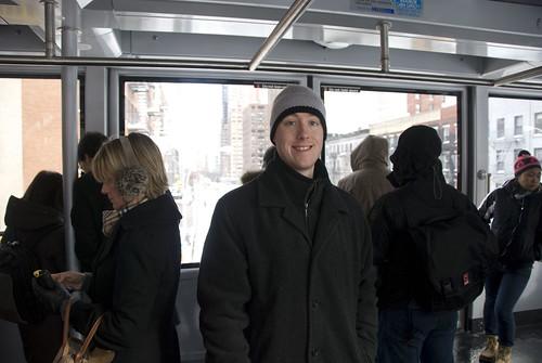 d4 Kyle on tram