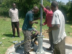 pump installation at ebusyubi pri.school