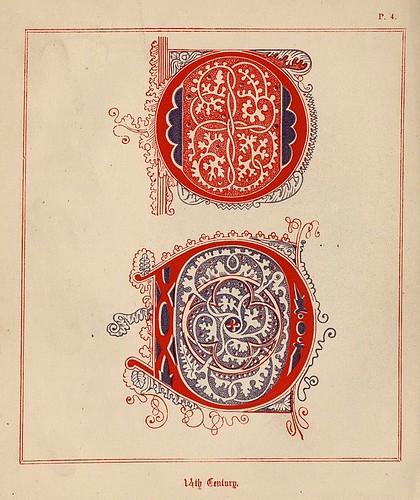003- Medieval Alphabets and Initials 1886- F.G. Delamotte- Copyright 2006 illuminated-book.com& libros-iluminados.com
