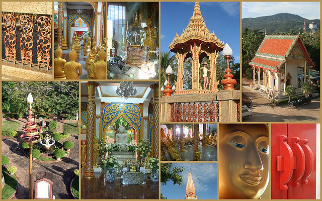 Wat Chalong houses many amazing things