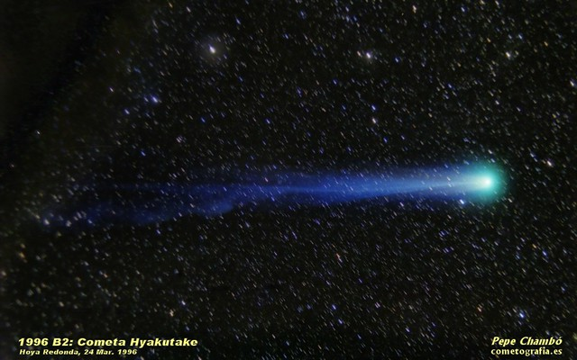 Hyakutake Comet