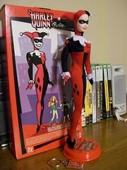 Harley Quinn Barbie Doll (StarWarsBat) Tags: barbie batman collectors harleyquinn thejoker batmantheanimatedseries harleenquinzel