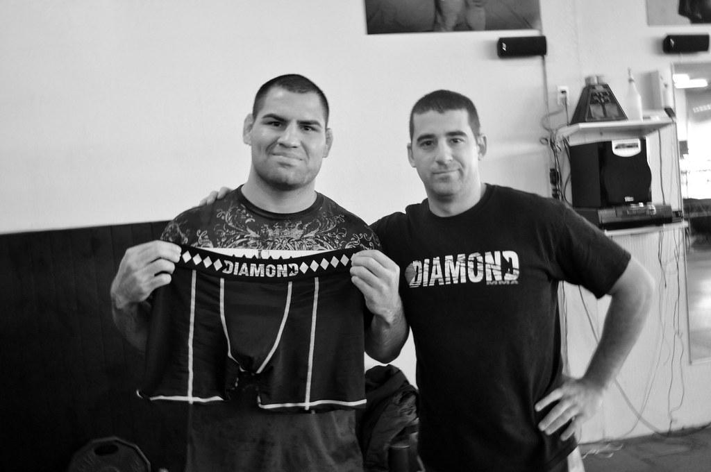 Diamond mma ceo and Cain Velasquez