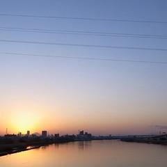 西新井橋からの夕景1 #GRD3
