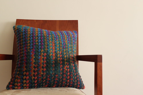 Kaffe Fassett Love - Cushion #1 made by mum - FRENTE