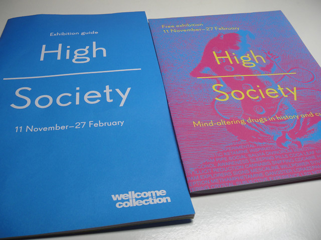 High Society Exhibition at the Welcome Collection, London Uk