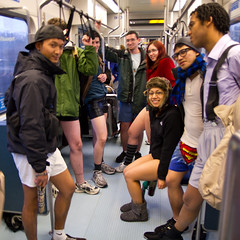 People without Pants on Link (Atomic Taco) Tags: nopants soundtransit improveverywhere linklightrail emeraldcityimprov