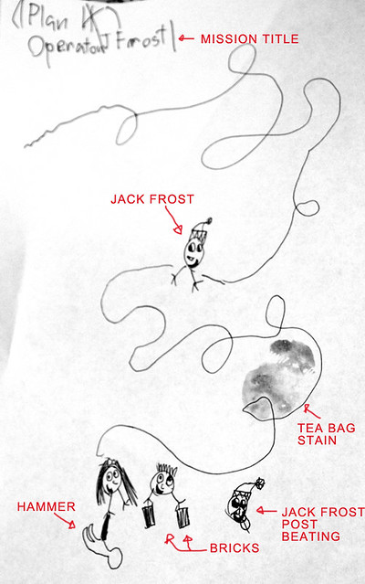 Thing 1's Jack Frost Plan
