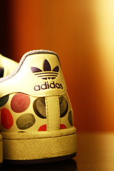 Polka Dot Adidas Superstar... (Daniel Y. Go) Tags: canon shoes philippines sneakers 7d christianity adidas superstar polkadot eos7d canon7d gettyimagesphilippinesq1