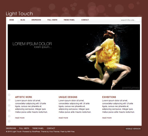 light-touch-wordpress-theme