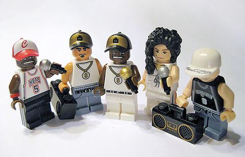 Custom minifig Rap musician custom minifigures