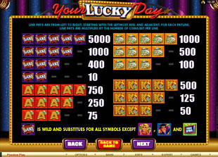 free Your Lucky Day slot mini symbol