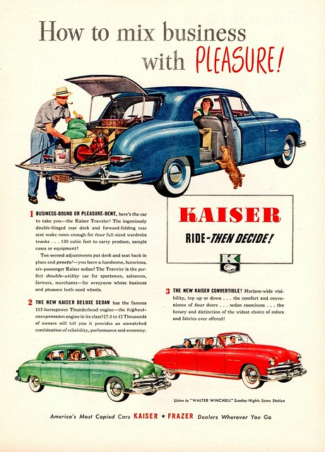 1949 Kaiser Traveler.  Thank you aldenjewell!