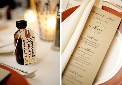 vanilla + menu