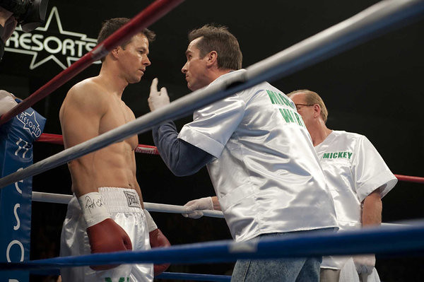 "Mark Wahlberg and Christian Bale in ""The Fighter"" (2010)"
