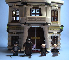 10217 LEGO Diagon Alley - Gringotts Bank ([Renegade]) Tags: alley lego harry potter bank gringotts diagon 10217 brickjet