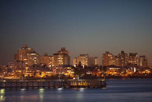 "Muelle la Pastora, Parada 4, with Punta del Este Skyline as background | 110113-9560-jikatu | <a href=""http://www.flickr.com/photos/59207482@N07/5358713582"">View at Flickr</a>"