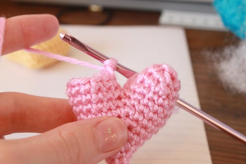 Heart Gifts Free Crochet Pattern Little Heart Plushy Crafts