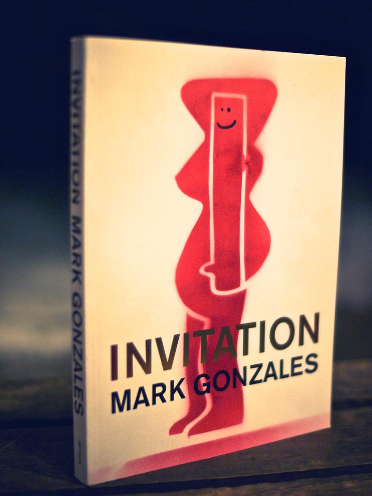 Mark Gonzales / Invitation