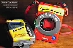 SONY WALKMAN (photo by jpalm) Tags: walkman sony project365 myfirstsony