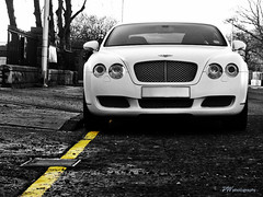 Matte White GT (PWphotography) Tags: new white cars car speed scotland fast continental exotic aberdeen gt speedy rare supercar bentley matte bentleycontinentalgt continentalgt bentleygt mattewhite satinwhite sueprcars mattewhitebentley